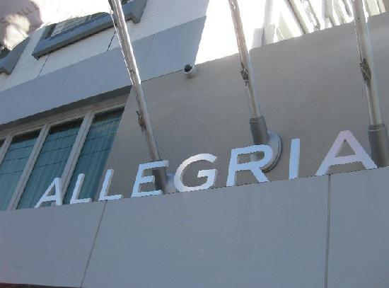 Allegria Hotel: The front