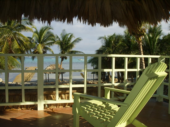 Caye Casa: your  porch