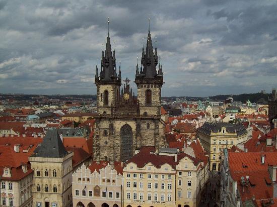 Prague, Czech Republic: Plaza de la Ciudad Vieja