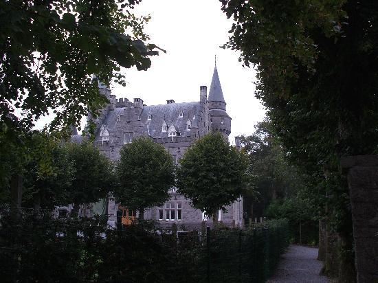 Chambres d'hotes Les Cresses : chateau opposite