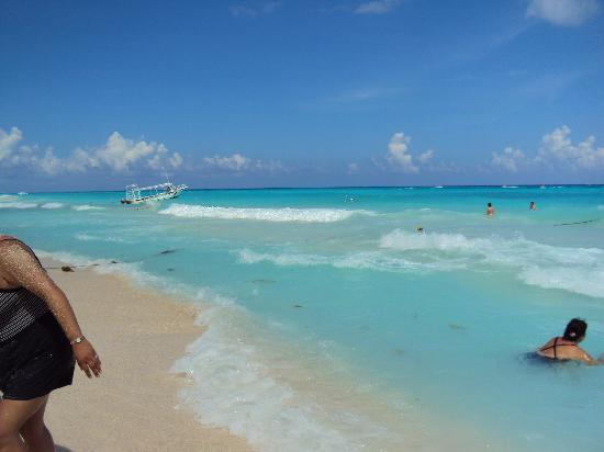 Hotel Riu Playacar Veiw Of Playa Car Beach