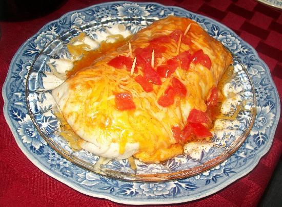 Cincinnati's Weller Haus Bed and Breakfast: Sausage Burrito