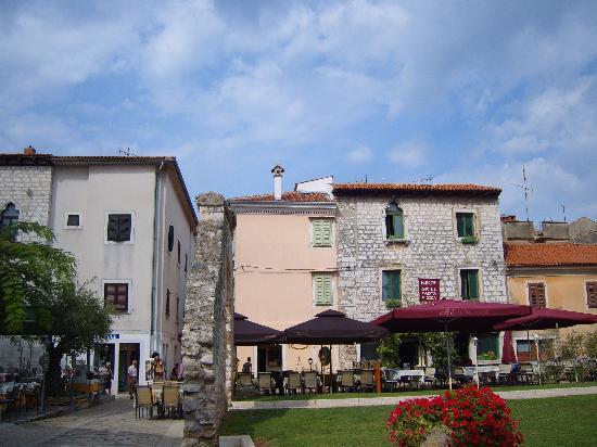 Porec, Croatia: square
