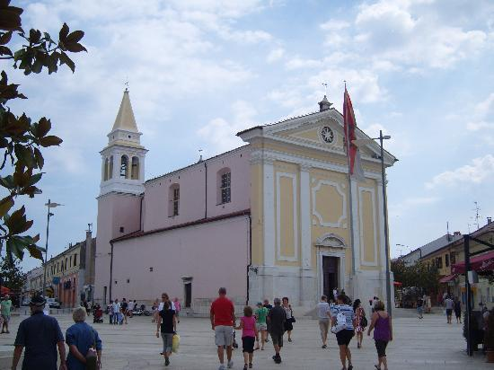 Porec, Kroatien: church