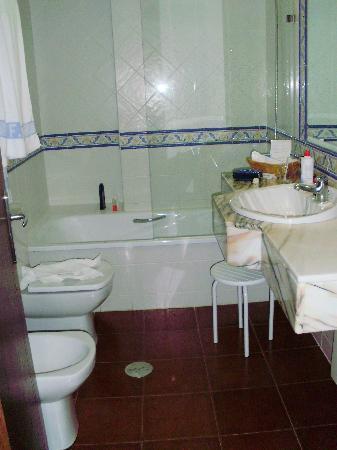 Hotel Finca La Mansion: el baño