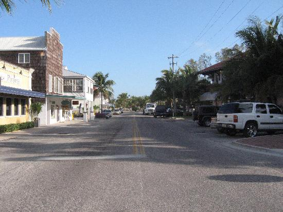 """Four Corners"" looking North in Historic Boca Grande"