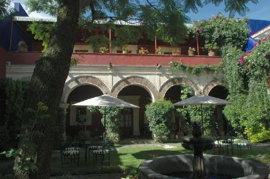 La Quinta Luna : Garten im Innenhof
