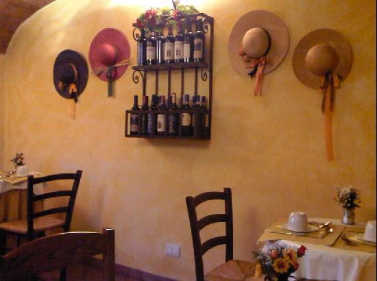 Villa Piccola Siena: Sala del Desayuno