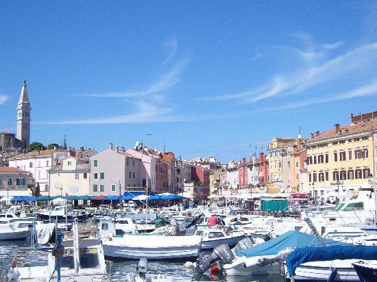 Rovinj, Kroatien: harbour