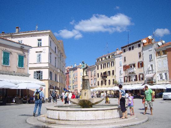 Rovinj, Kroatien: square