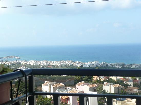 Creta Blue Suites: View from our room