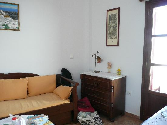 Michail Studios: living area of our apartment