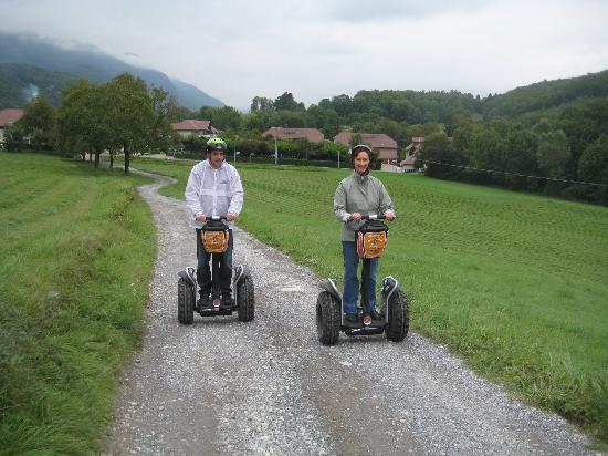 Mobilboard Segway : Scenic open spaces