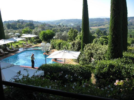 Relais Santa Chiara Hotel: Great view to the countryside