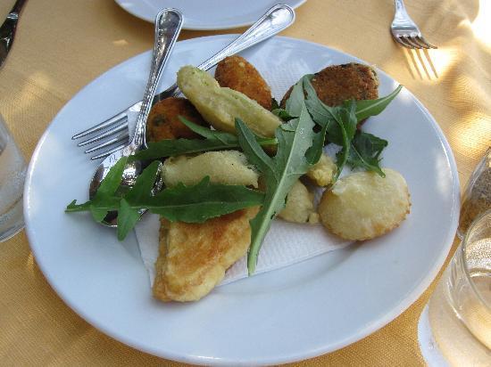 La Savardina: Fried mixed vegetables were very good