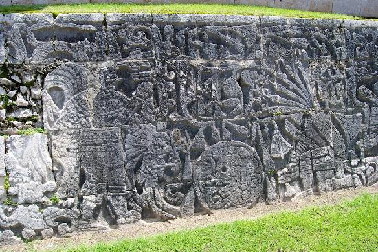 Chichén Itzá: These are everywhere you turn, and on a massive scale.