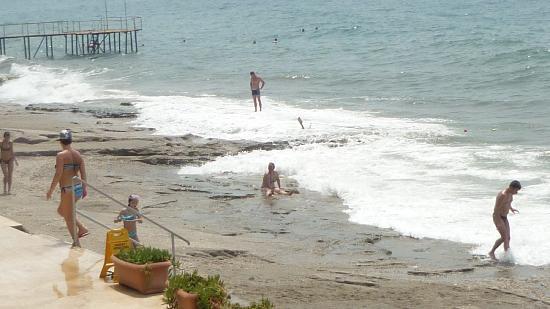 Hotel Mirador Resort & Spa : keines strand