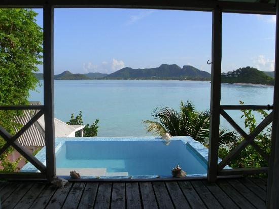 Cocobay Resort: View from the bed!!!
