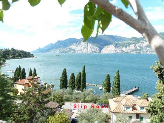 Hotel Antonella view from sun terrace