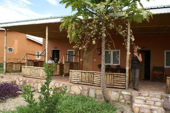 Simba Safari Camp: sitting in front of room