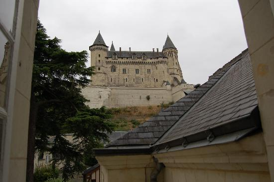 Anne d'Anjou : View from bedroom