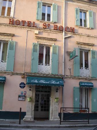Hotel Saint Roch : fachada del hotel