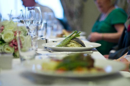 Rudding Park Hotel: Sea Bass from wedding menu
