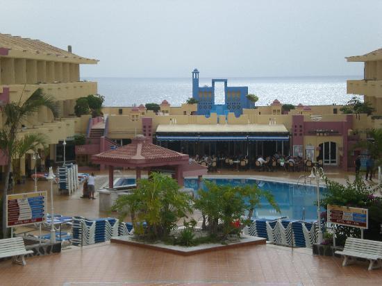 Marino Tenerife: View from balcony