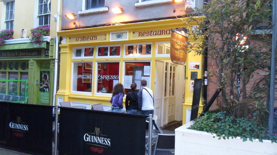 O Sheas Irish Restaurant Dublin South City Centre Reviews Phone Number Photos Tripadvisor
