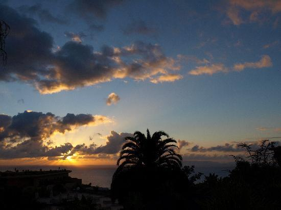 Quinta Splendida : sunrise over the sea