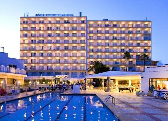 Hotel Globales Condes De Alcudia Mallorca