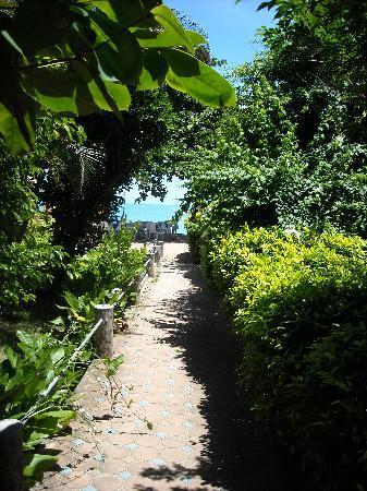PS Thana Resort: ...der Weg zum Strand...