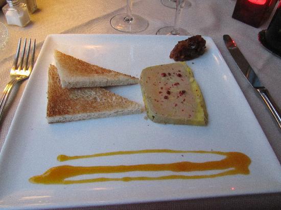 L'Auberge de Combreux : foie gras
