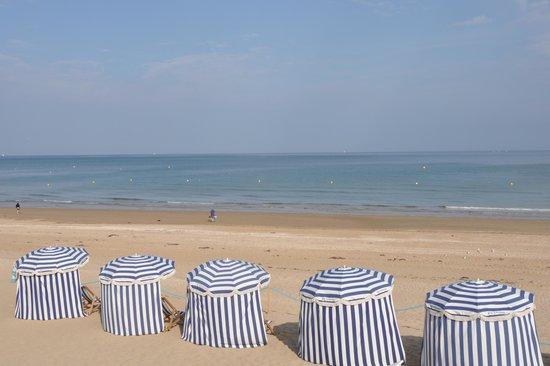 กาเบิร์ก, ฝรั่งเศส: Strand von Cabourg