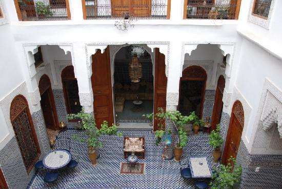 Dar Al Safadi: El patio...