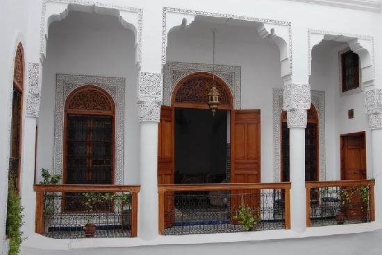 Dar Al Safadi: Entrada a una de las habitaciones....
