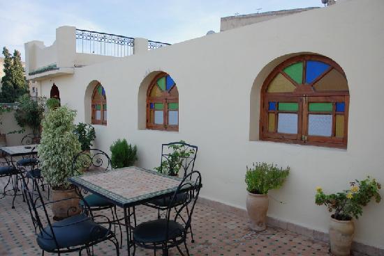 Dar Al Safadi: Terraza