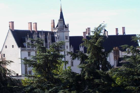 Ibis Nantes Centre Gare Sud : view to castle