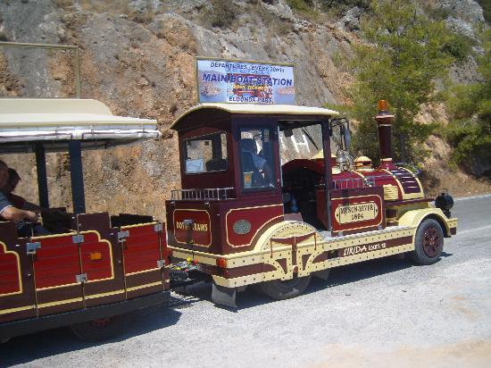 Elounda, Griekenland: Happy Train