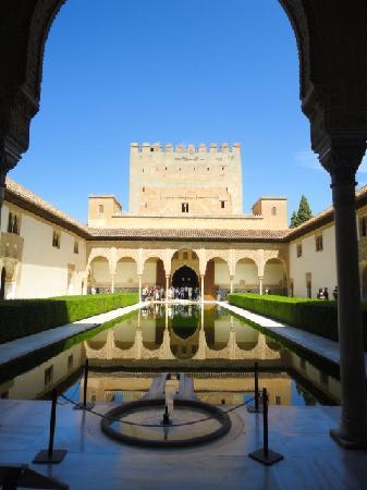 Granada, Spain: La hermosa Alhambra palacio nazari