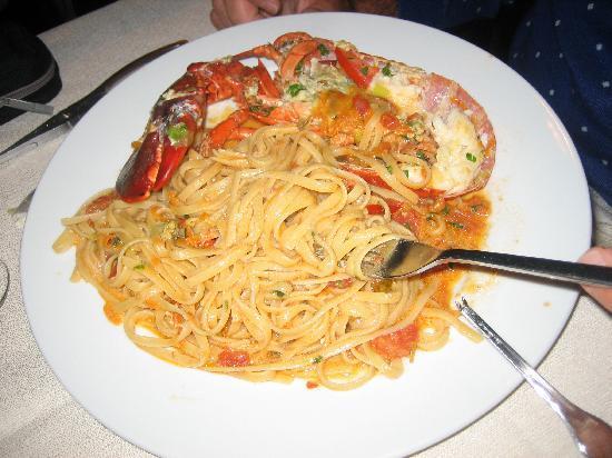 Trattoria da Nino: spaghetti all'astice