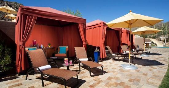 The Ritz-Carlton, Dove Mountain: Poolside Cabanas