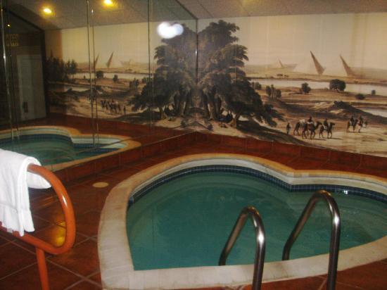 Cove Haven Resort : heart shaped pool