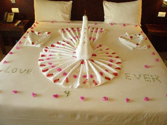Our wedding anniversary decoration picture of stella di for Wedding anniversary trip ideas