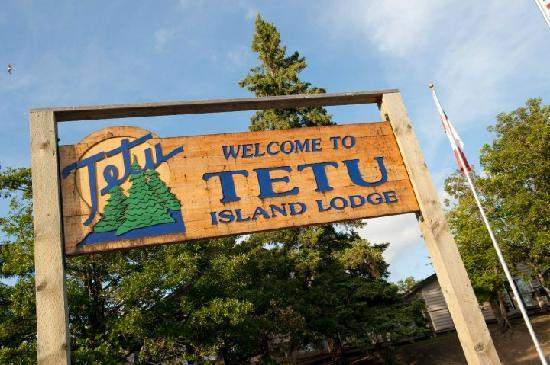 Kenora, Canada: Tetu Welcome Sign