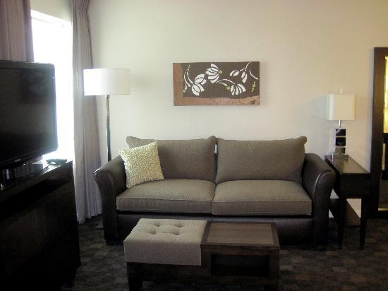 HYATT house Shelton: living area