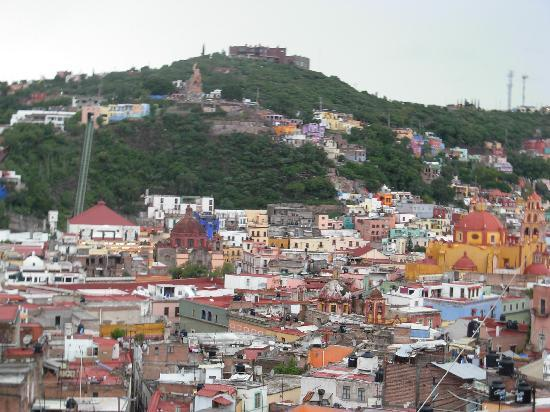 La Casa Azul: Vista de la Terraza