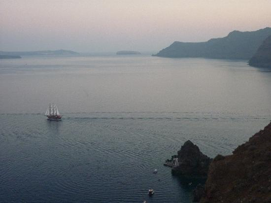 Old Oia Houses : View from our balcony!