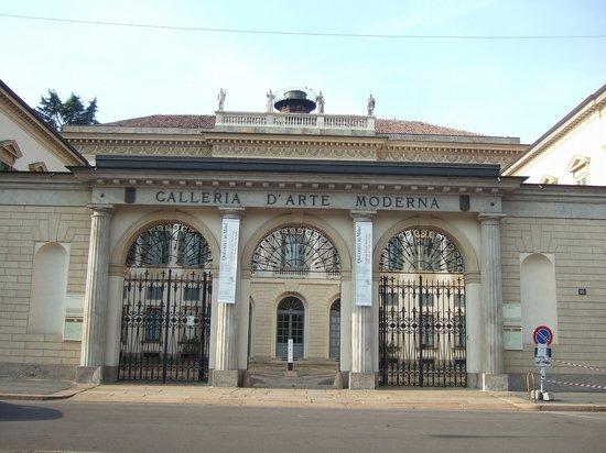 Galleria Civica d'Arte Moderna: 市立近代美術館外観