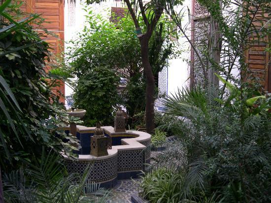 Riad Louna : Le patio